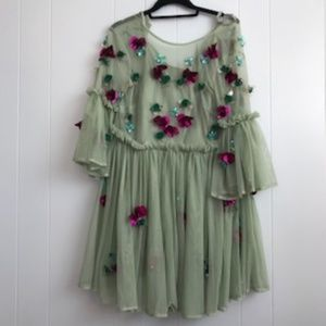 ASOS green fairy dress